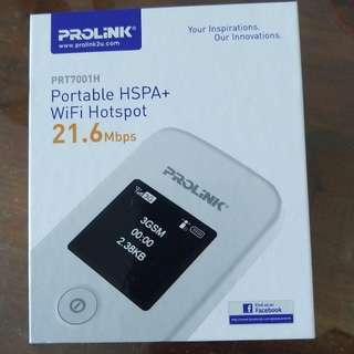 Portable wifi Hotspot PROLINK