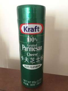 Kraft parmesan cheese powder 卡夫芝士粉