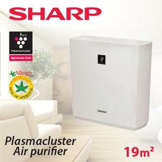 Sharp Plasmacluster Air Purifier White FU-A28E-W
