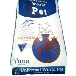 Universal cat food tuna repack 1kg / universal cat food / makanan kucing