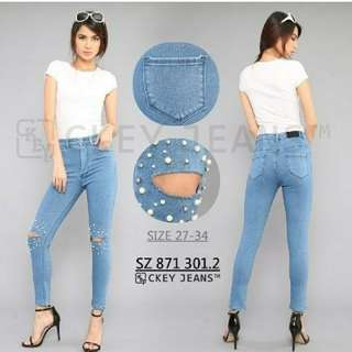 pearl jeans