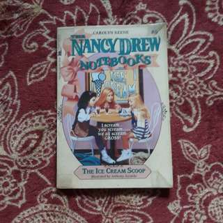 Nancy Drew notebooks - The Ice Cream Scoop