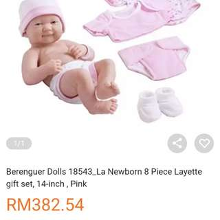 Berenguer baby doll nb