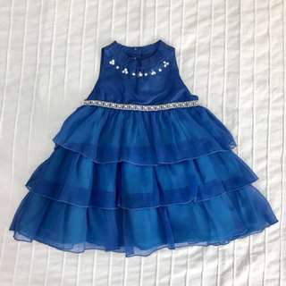 Periwinkle Baby Formal Dress in Blue