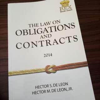 De Leon - Obligations and Contracts