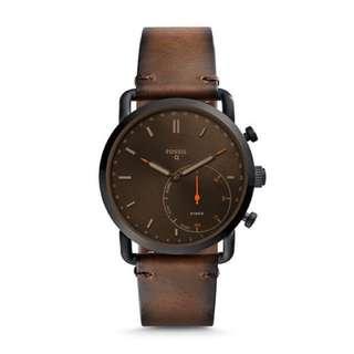 Fossil Q Commuter 皮帶智能手錶