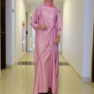 baju muslim pesta dress