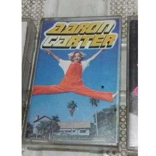 Aaron Carter Cassette Tape