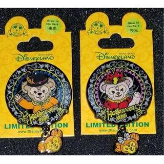 迪士尼 徽章 Duffy / Shelliemay Halloween 2016 Disney pin LE500