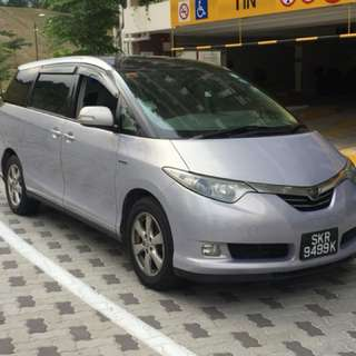 Estima Hybrid for rental