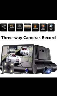Brand New Various Car Camera Models - 3 Lens, 2 Lens, 1 Lens, Wifi