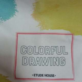 Etude House Colourful Drawing Bag