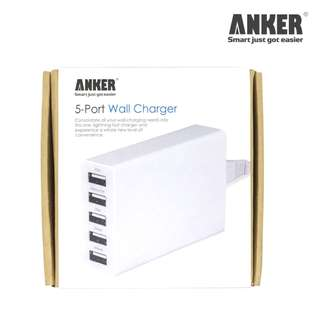 ANKER 5出口智能快速充電器