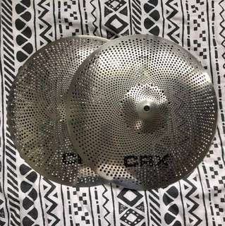 "CRX Air 14"" Hi Hats - Low Volume Mute Cymbals"