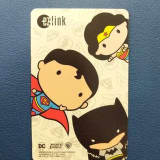 Limited Edition Justice League Ez-link Card