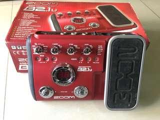 Zoom B2.1u bass pedal