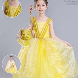 Belle dress/110 to 150cm