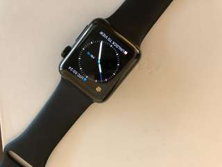 Apple Watch 2 space black stainless steel 38mm