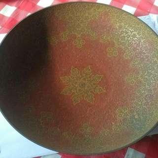 Old Bronze Large Bowl