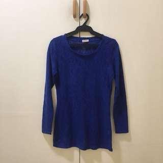Jellybean knitted blouse
