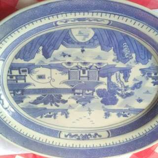 Chinese Large Plate