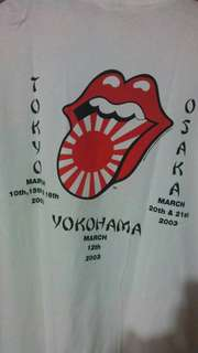 Tee Rolling Stone tour Japan 2002