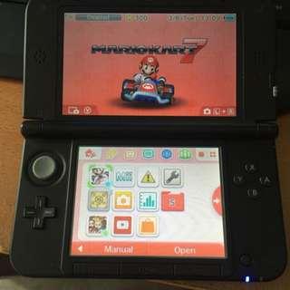 Nintendo 3ds Xl With Marino Kart 7
