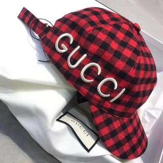 Gucci cap pattern