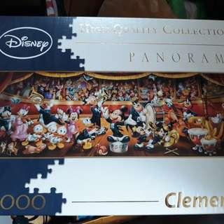 Disney Puzzle 1000pcs - Panorama Concert Clementoni