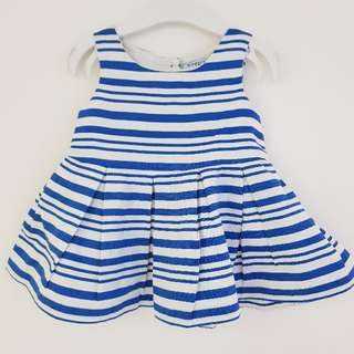 Gingersnap stripes dress