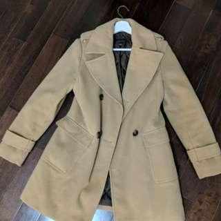 Camel Coat - Small/Medium