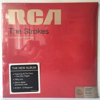 The Strokes ‎– Comedown Machine (2013 USA Original 180g Vinyl - SEALED - MINT)