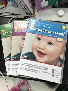 YOUR BABY CAN READ DVD SERIES