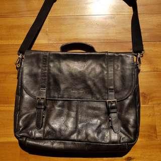 Authentic Samsonite Leather Laptop/Document Bag