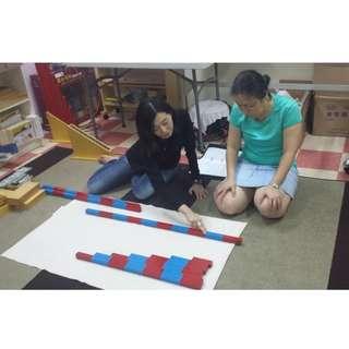 MONTESSORI MATHEMATICS MATERIALS (NUMBERS 0-20) WORKSHOP FOR PARENTS & EDUCATORS