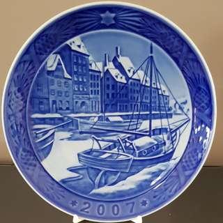 2007 Royal Copenhagen year plate
