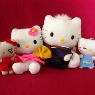 Hello kitty and friends set stuff toys