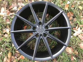 """18 Blaque Diamond Designer Rim 5x112/114.3/108"