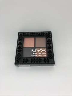 NYX FULL THROTTLE Eyeshadow