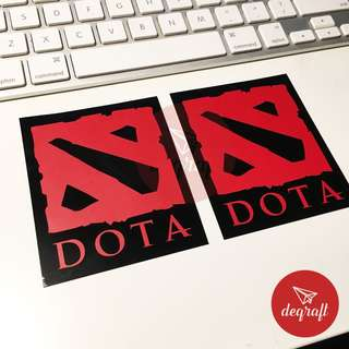 DOTA STICKER , for outdoor and indoor