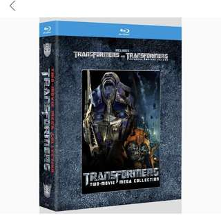 Transformers Two Mega Collection Blu Ray
