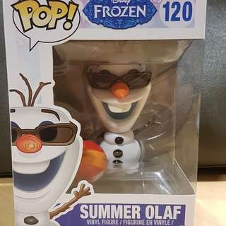 Funko Pop Summer Olaf