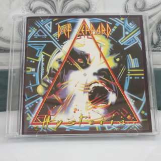 CD Japan Hysteria - Def Leppard