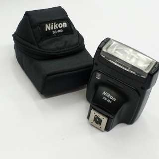 nikon speedlite sb400 flash
