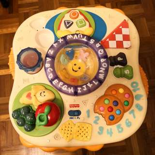 Fisher Price Activity Musical Table