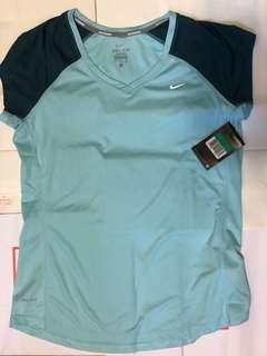 Brand new Nike Dri-fit running t-shirt 519832-417 womens XL