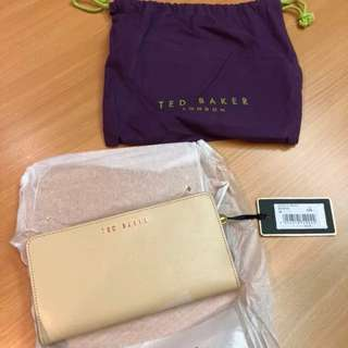 Ted Baker 100% NEW wallet 長銀包 有相位同散紙位