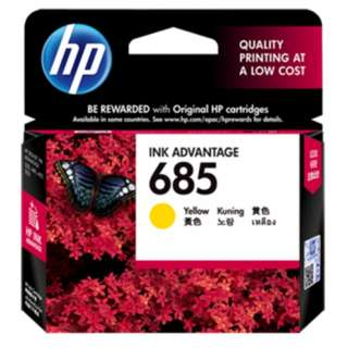 HP 685 Yellow Ink Cartridge (CZ124AA)