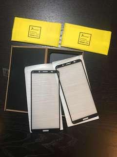 Huawei Mate 10 Pro 手機電話3D 黑色鋼化玻璃全屏膜