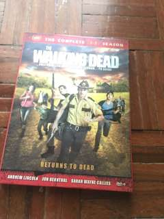 Walking Dead season 1-2
